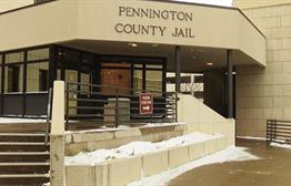 Pennington County Jail Using Body Scanner