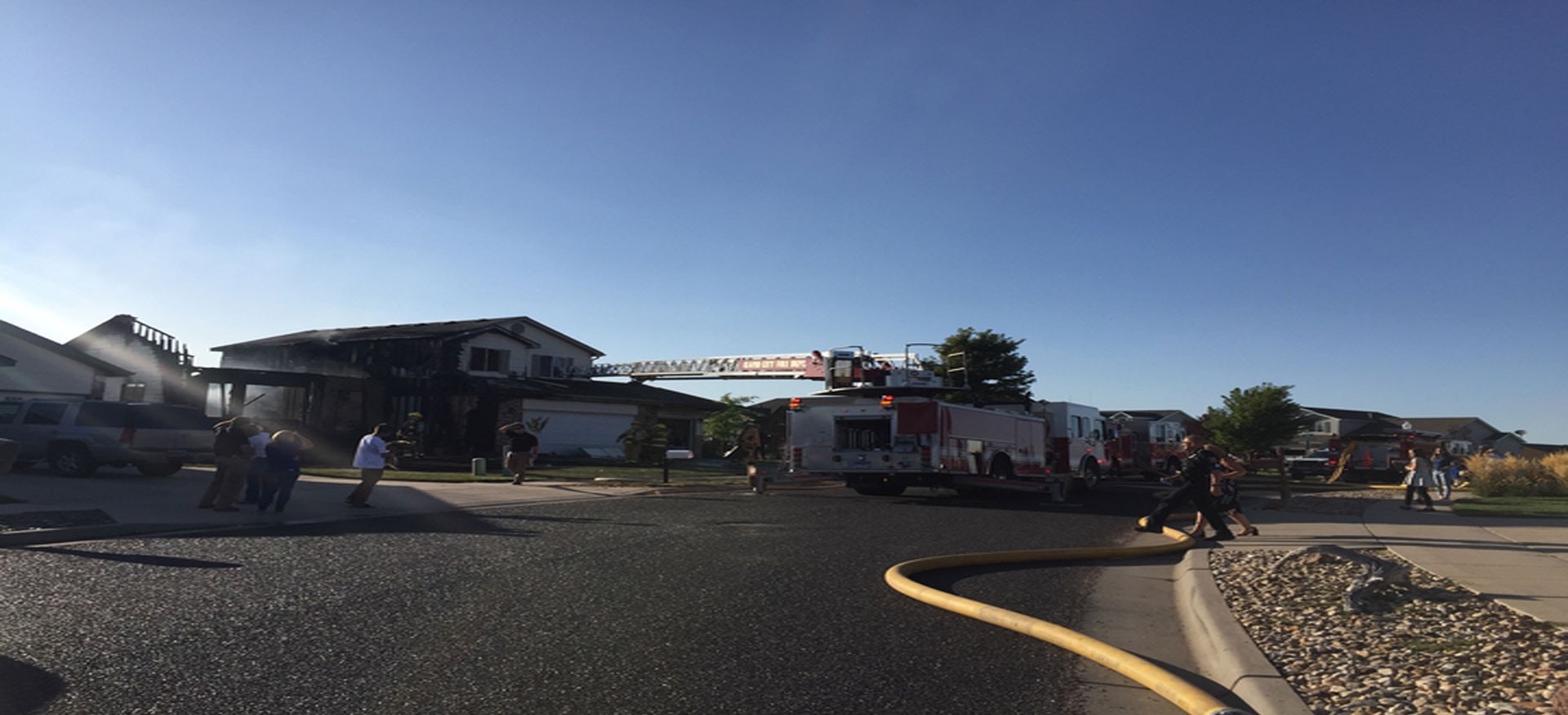Rapid City Crews Battle House Fire