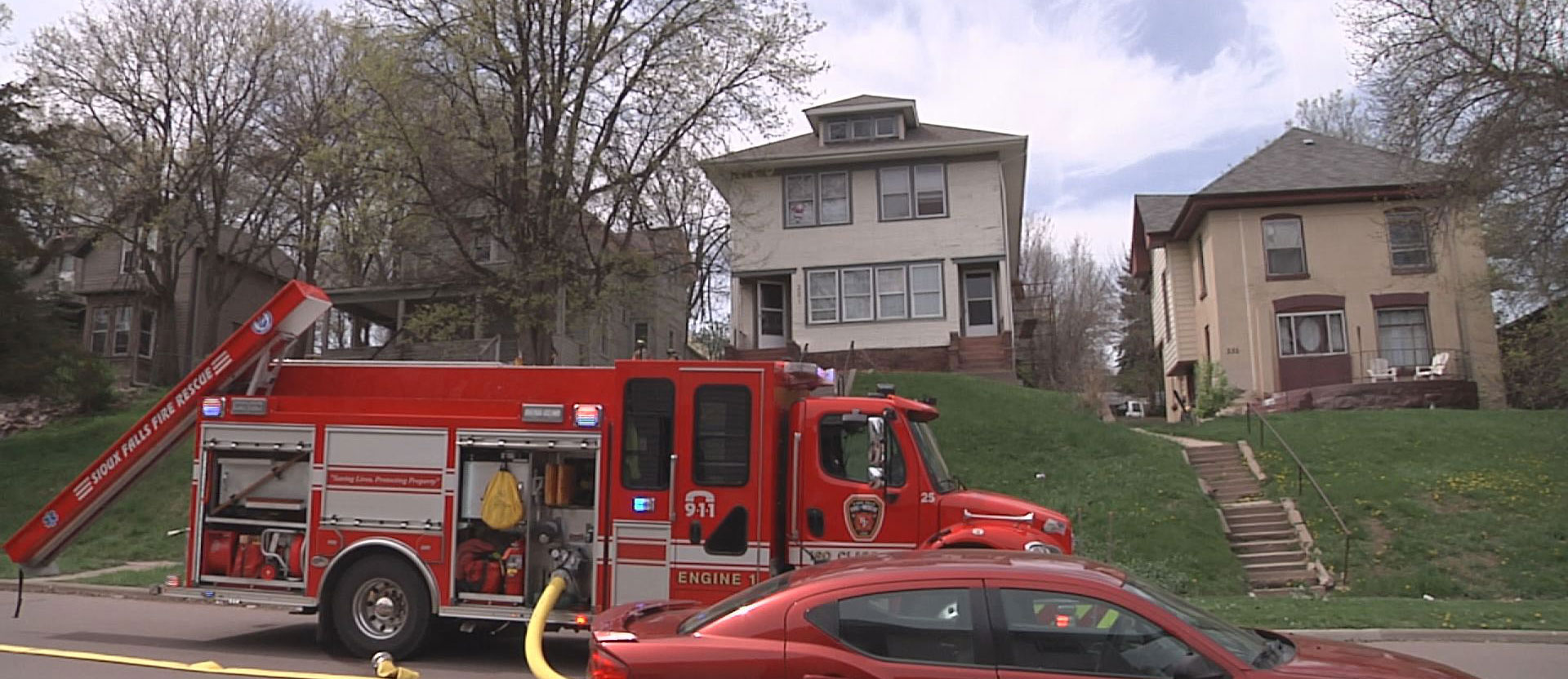 Sioux Falls Spring Ave Fire