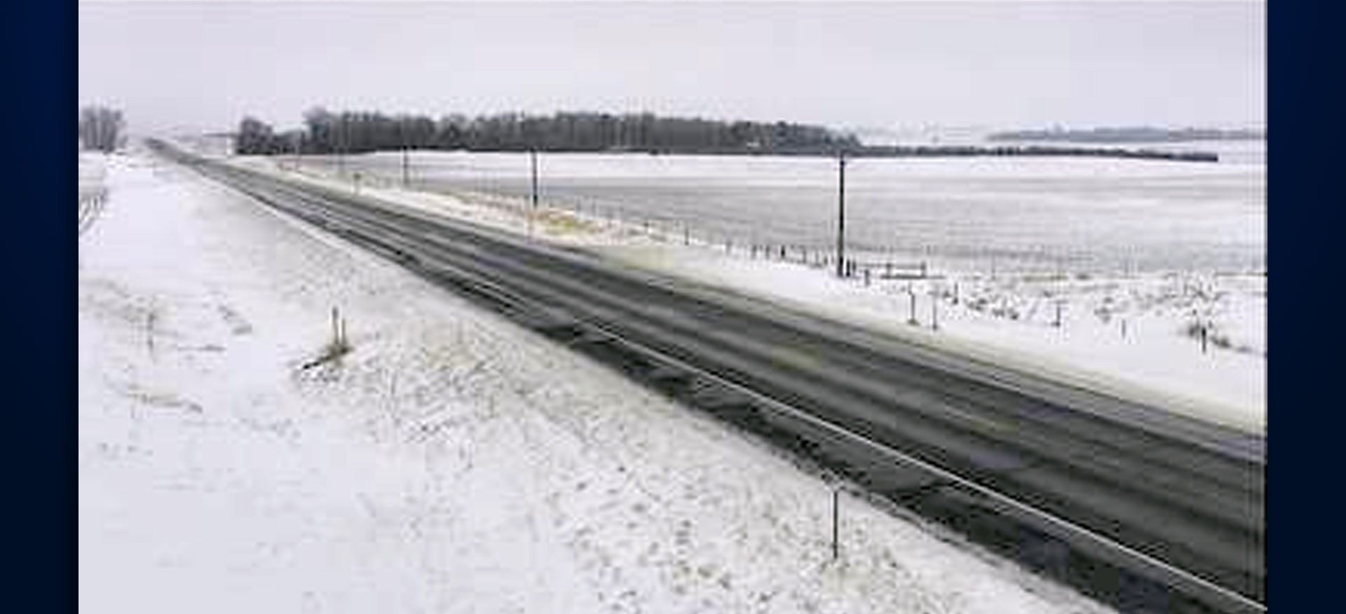 U.S. Highway 18 near Freeman | Courtesy: SDDOT