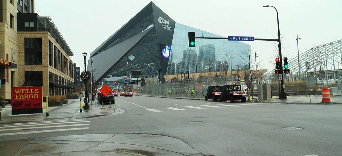 US Bank Stadium Super Bowl