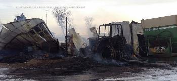 Wanblee Fire