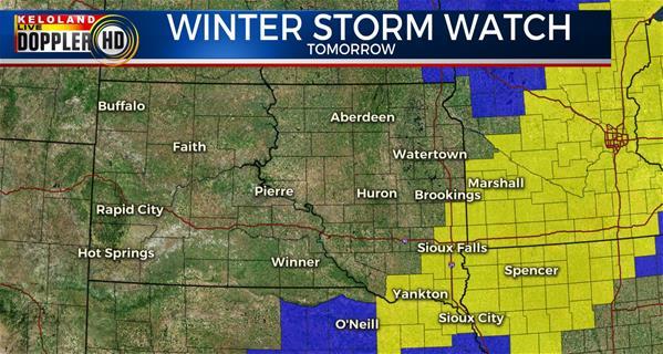 Storm Center Update Friday AM February 23rd