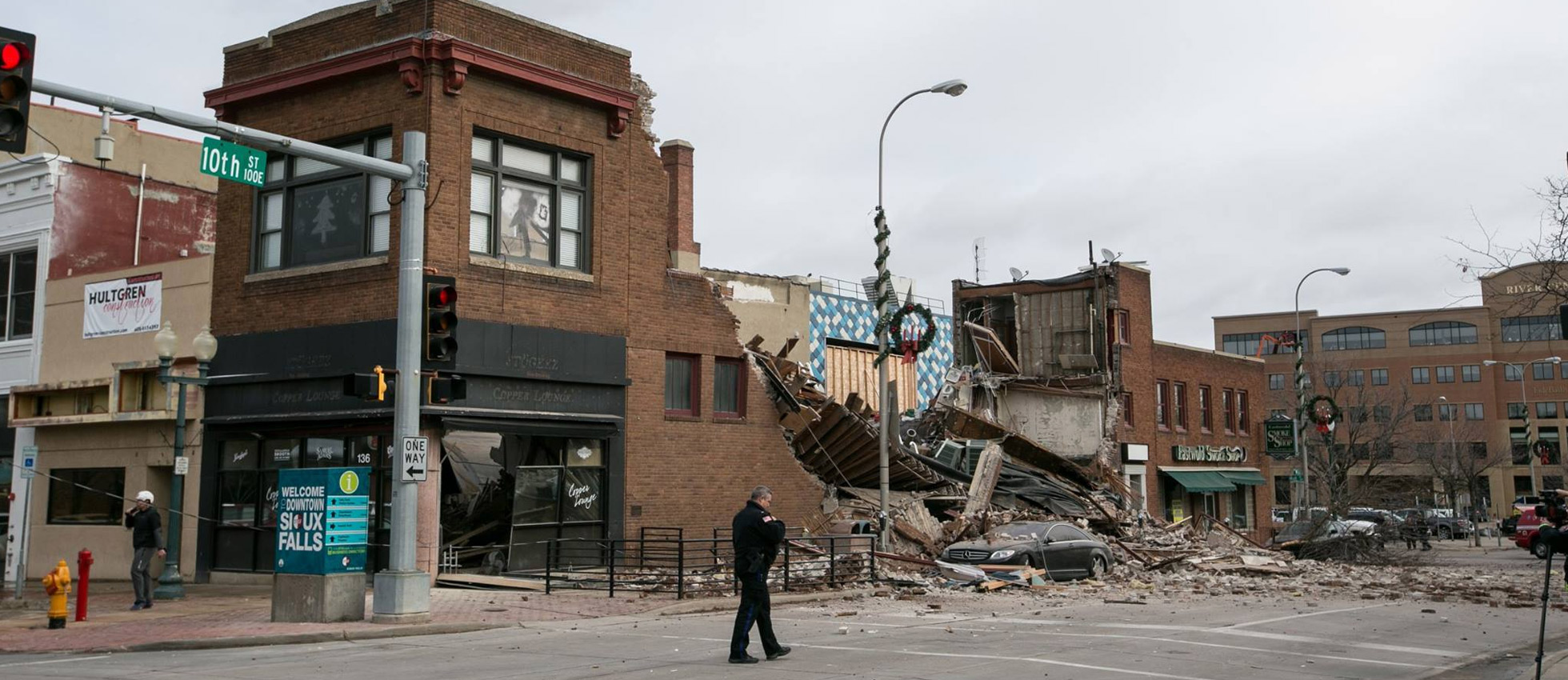 Keloland Auto Mall >> Witness Recalls Aftermath of Building Collapse In Downtown Sioux Falls