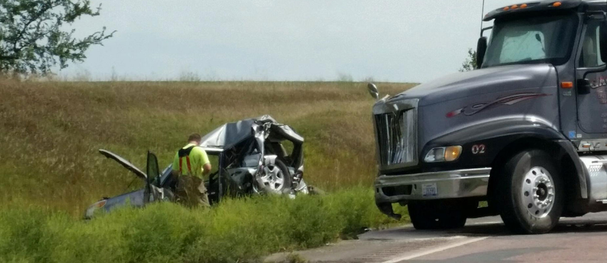 South Dakota Car Crash August
