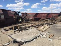 train derailment uShare Bath South Dakota