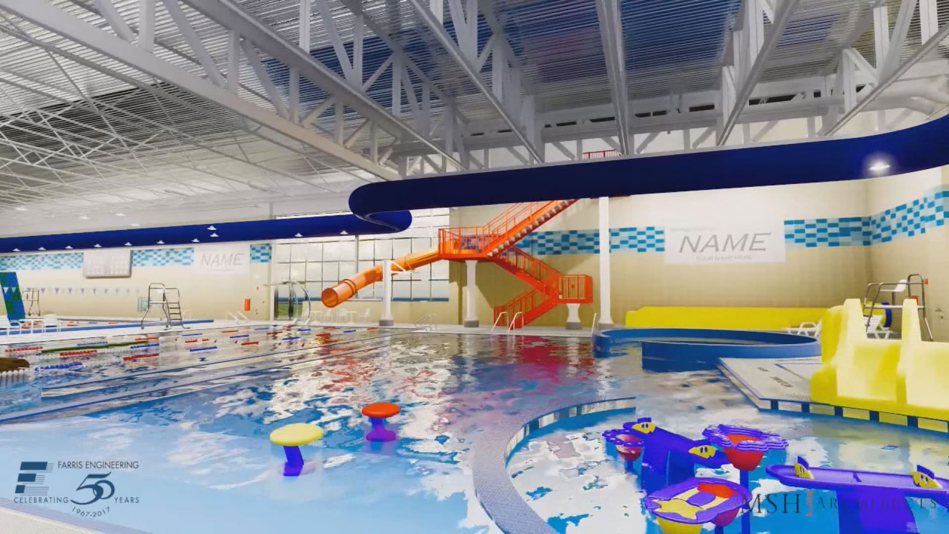play area proposed Mitchell aquatic center