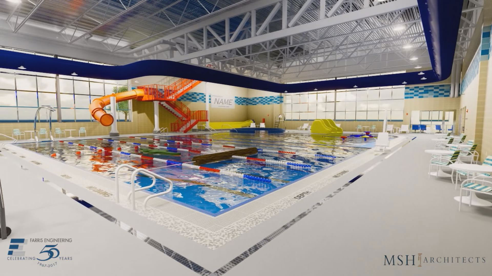 wide view proposed Mitchell aquatic center