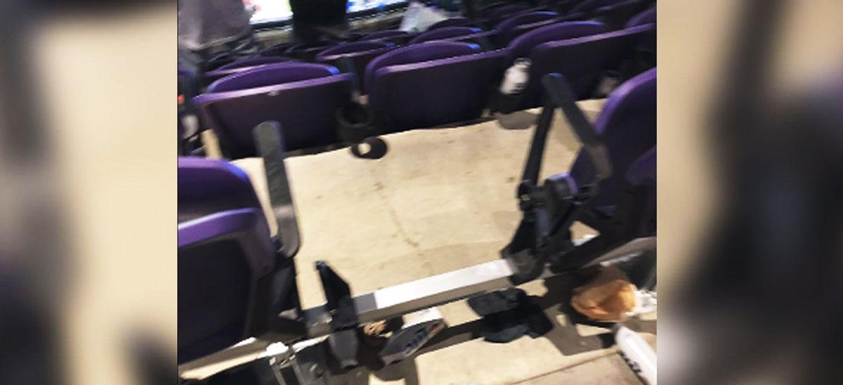 US Bank Stadium vandalism Super Bowl 52