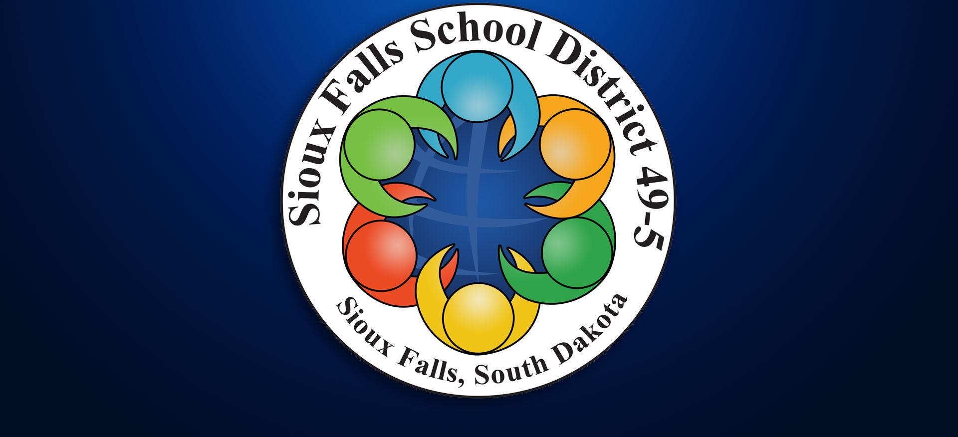 Sioux Falls School District logo SFSD