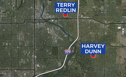 Terry Redlin Harvey Dunn Sioux Falls schools map