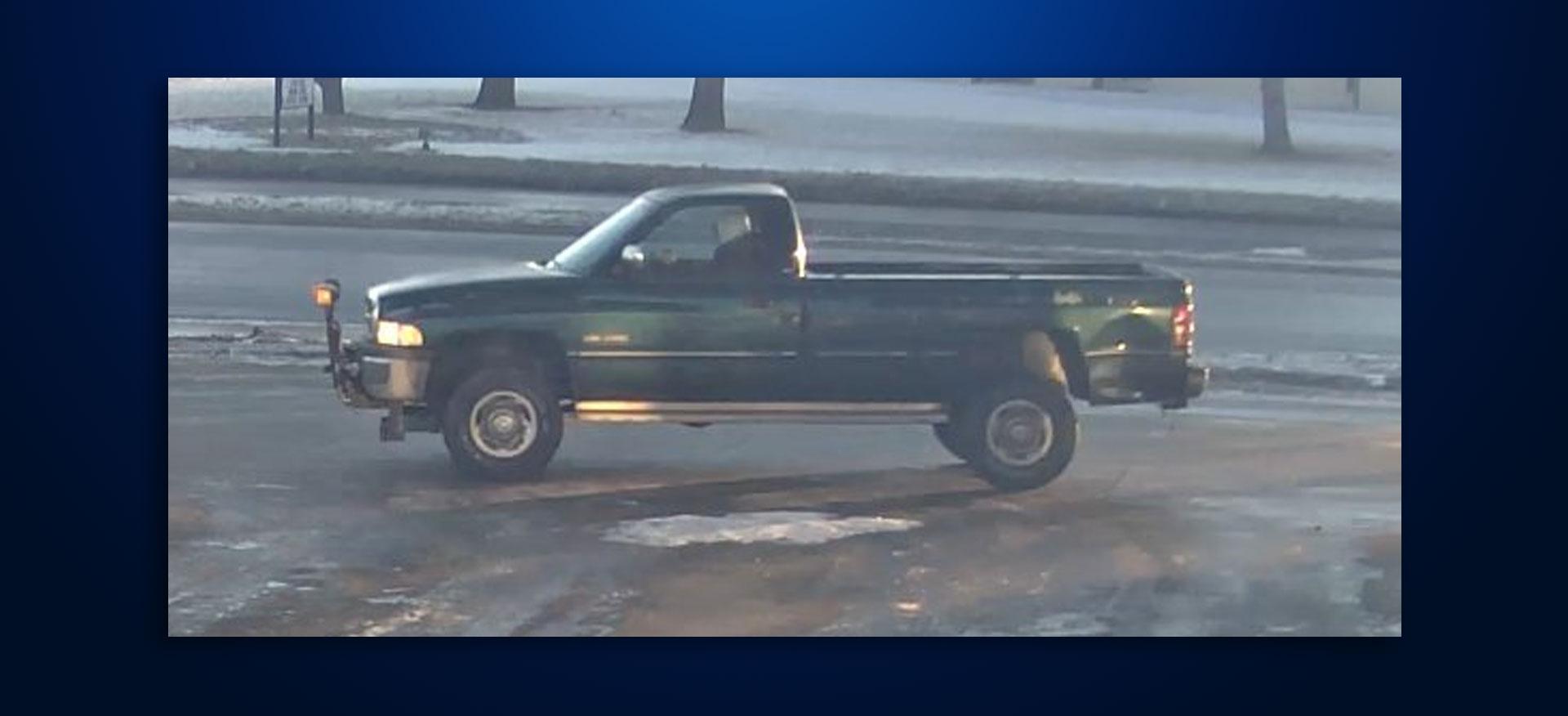 Minnehaha County suspicious truck