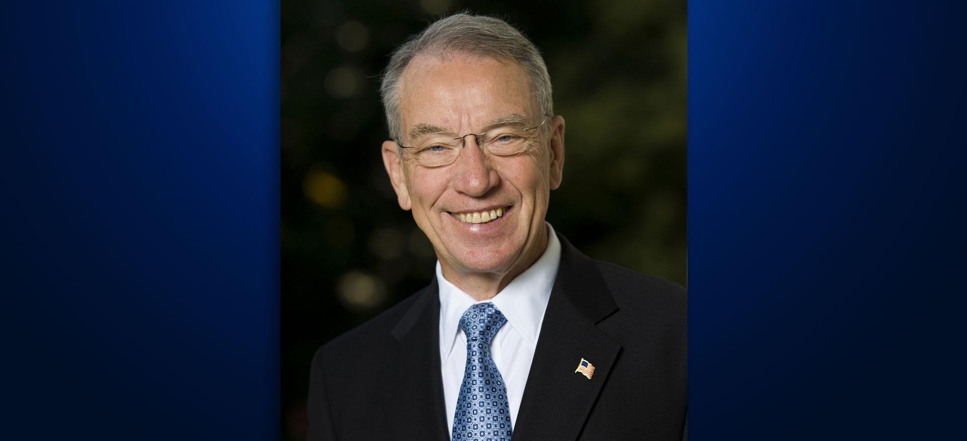 Senator Charles Grassley Iowa