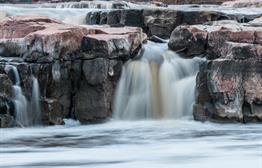 Upper Falls at Falls Park
