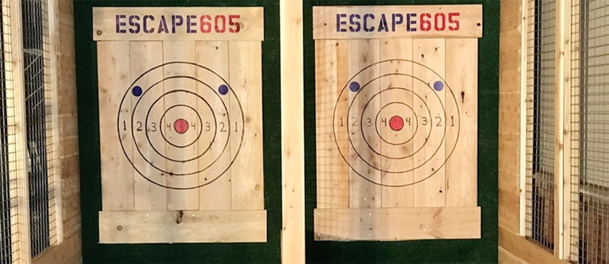 Escape 605 axe throwing business downtown Sioux Falls