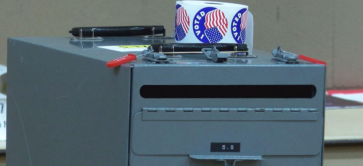 Voting ballot box election