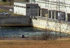 Oahe Dam on the Missouri River