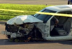 Air bag deployed in Chrysler