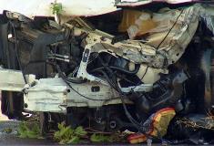 Damage under the Chrysler