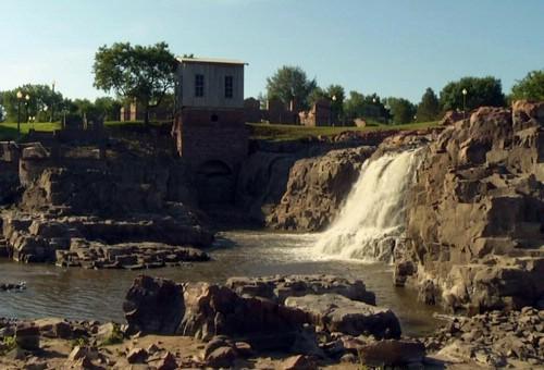 Big Sioux River at Falls Park