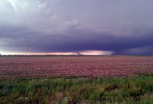 The sky in Redfield