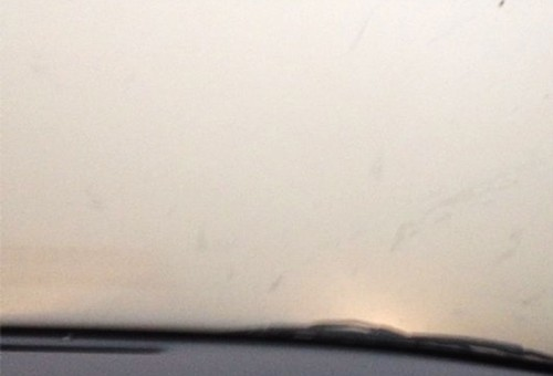 Inside the dust storm
