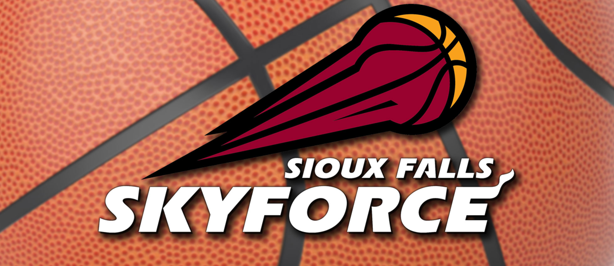 Sioux Falls Skyforce logo basketball