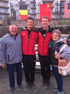 USA Waterski Team takes 1st Plave