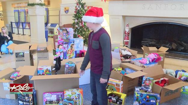11-Year-Old Boy Gives Back To Sick Children This Holiday Season