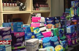 Nearly 50K Feminine Hygiene Products Collected For Those In Need