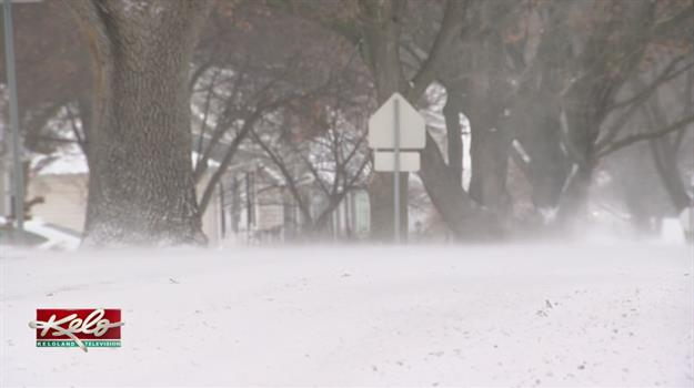 Wind And Snow Delays Cleanup