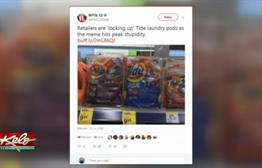 Real or Fake: Stores Locking Up Tide Pods In Response To Social Media Challenge