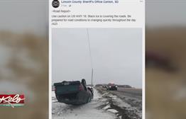 Badge 23 Warns Drivers Of Slippery Roads