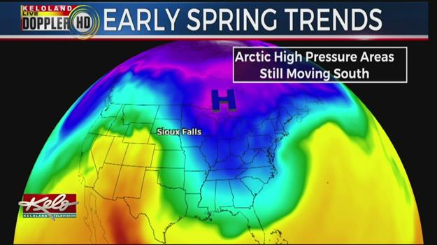 Jet Streams Bring Arctic Air