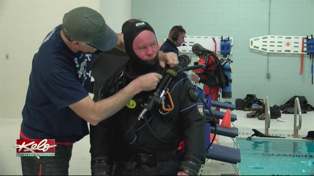 Minnehaha County Emergency Management Dive Team Training To Save Lives