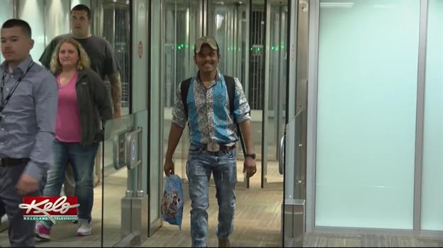 Bertin Flores Solorzano Returns Home