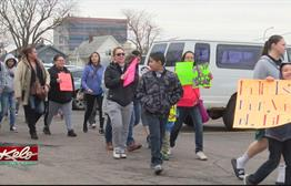 Large Crowd Participates In Meth Awareness Four Directions Walk