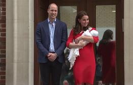 Kate Leaves Hospital Hours After Giving Birth