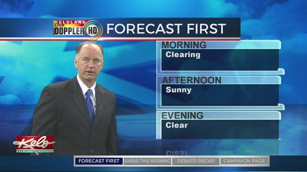 Forecast First AM: April 25, 2018