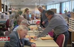 Brisk Absentee Turnout In Mayoral Runoff