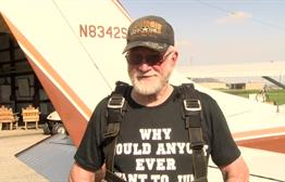North Iowa Man Goes Skydiving To Celebrate 80th Birthday