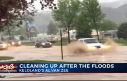 Flooding Cleanup in Rapid City Underway