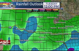 More Heavy Rain In The Forecast For Parts Of KELOLAND
