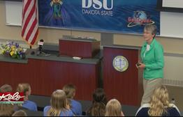 Secretary Of The Air Force Visits DSU Campers