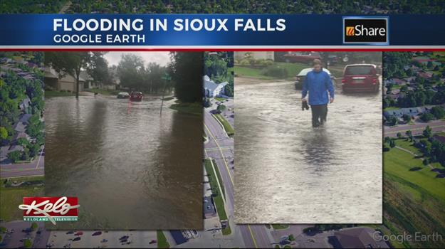 Sunday Flooding In Sioux Falls