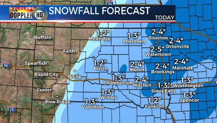 February 22 Snow Forecast