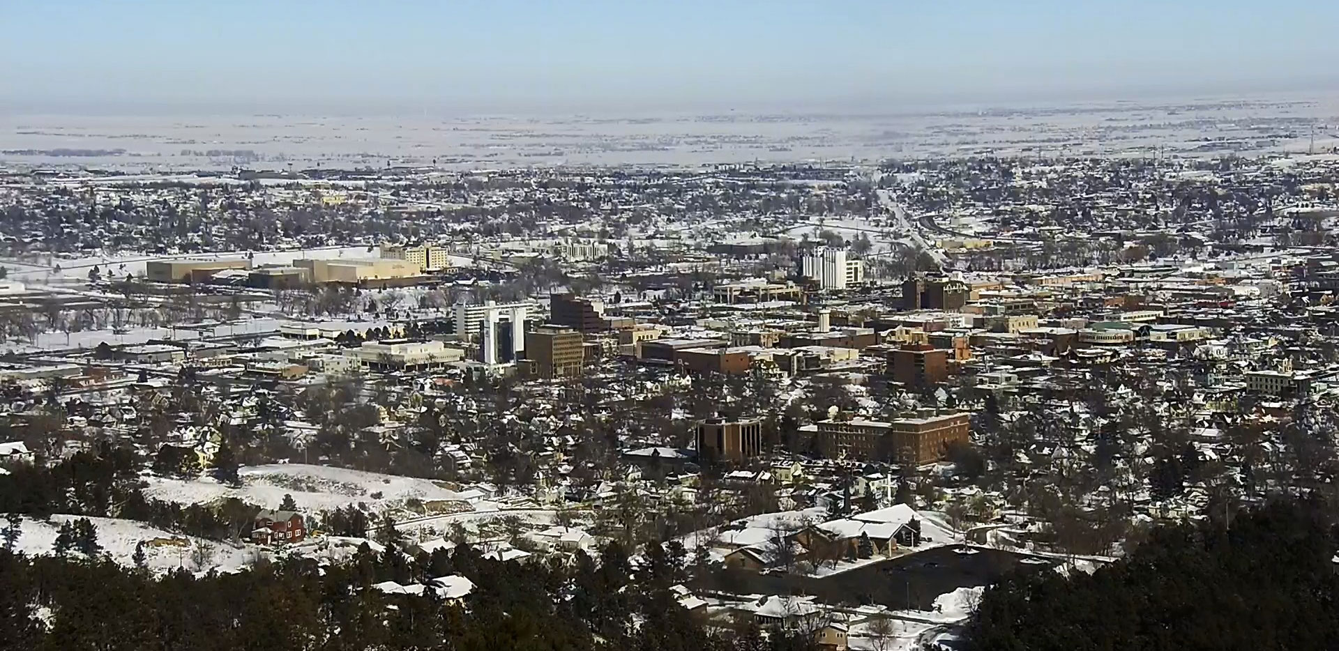 Rapid City Skycam South Dakota Winter