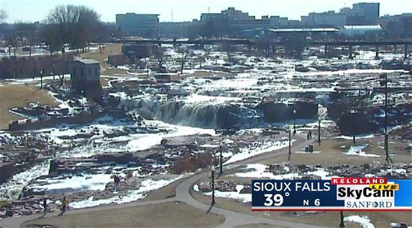 Sioux Falls South Dakota skycam