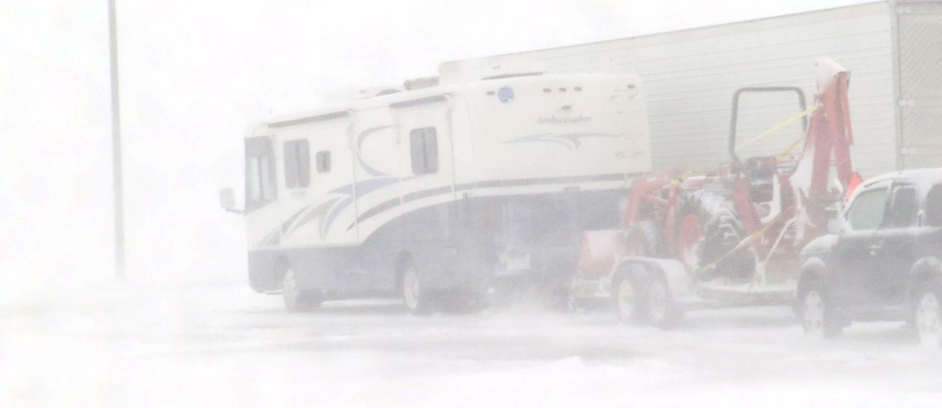 Salem Interstate 90 snow storm blizzard