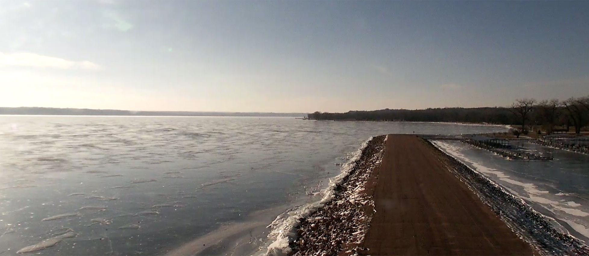 Yankton skycam winter weather South Dakota